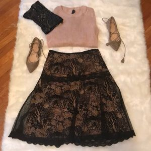 Vintage look NWT Tracy Reese Skirt Sz 4